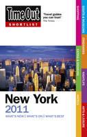 Reisgids New York 2011 Shortlist (Nederlands)  : Time Out Shortlist :