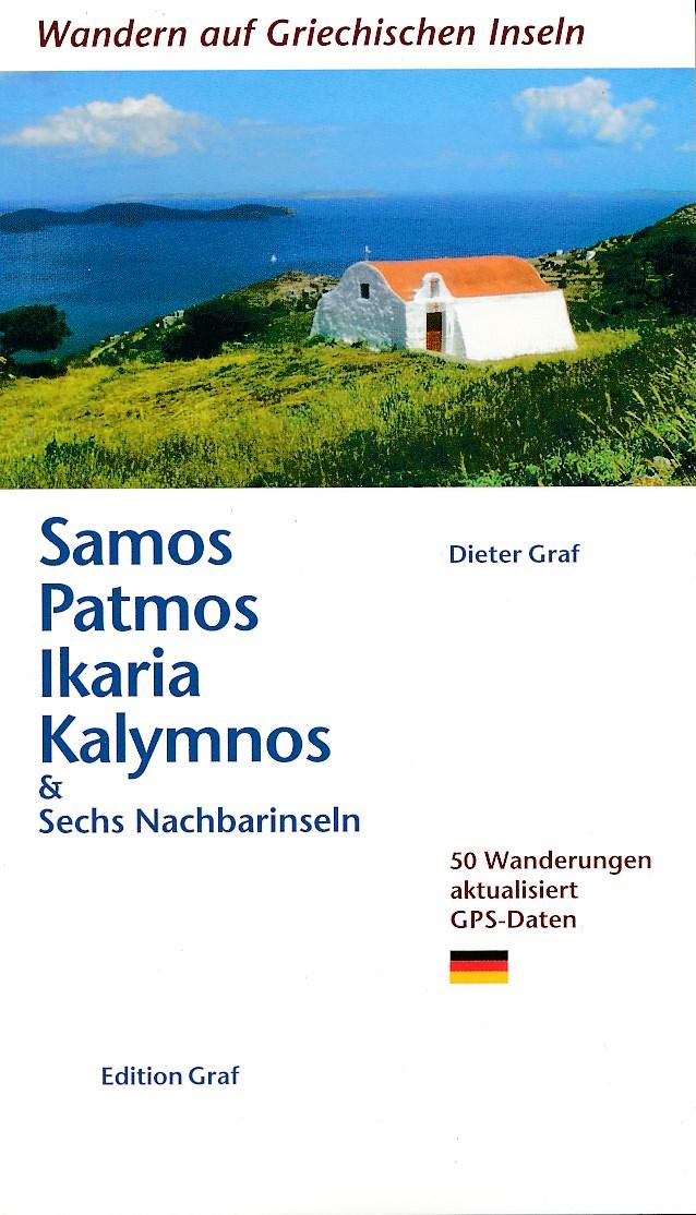 Wandelgids Samos, Patmos - ikaria - Kalymnos   Graf Editions