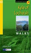 Pathfinder 43 Kyle of Lochalsh  / Wandelgids Schotland :