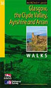 Pathfinder 36 Glasgow, the Clyde Valley, Ayrshire & Arran / Wandelgids Schotland :