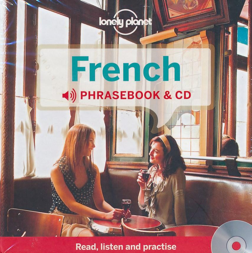 Woordenboek Taalgids Audio CD French Phrasebook - Frans   Lonely Planet