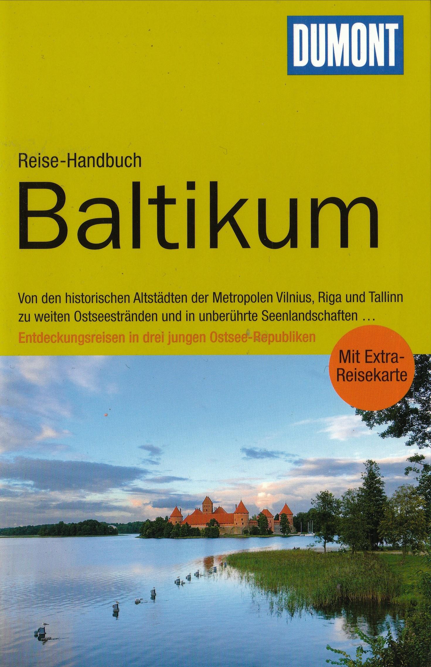 Reisgids Baltikum - Baltische Staten: Estland, Letland en Litouwen   Dumont Reise Handbuch