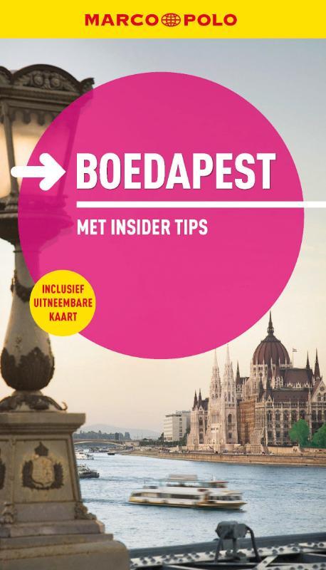 Reisgids Budapest - Boedapest Marco Polo   Unieboek