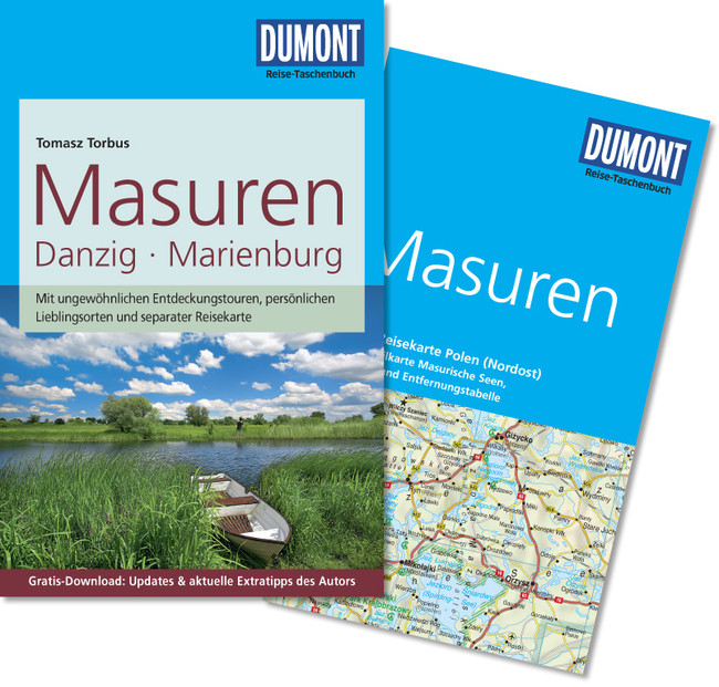 Reisgids Masuren - Masurië - Polen   Dumont