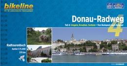 Fietsgids Donauradweg 4 - Hongarije - Kroati� - Servi�, van Boedapest naar Belgrado   Bikeline