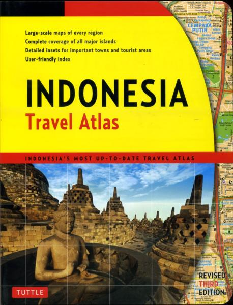 Wegenatlas Indonesia Travel Atlas   Periplus   Periplus Editors