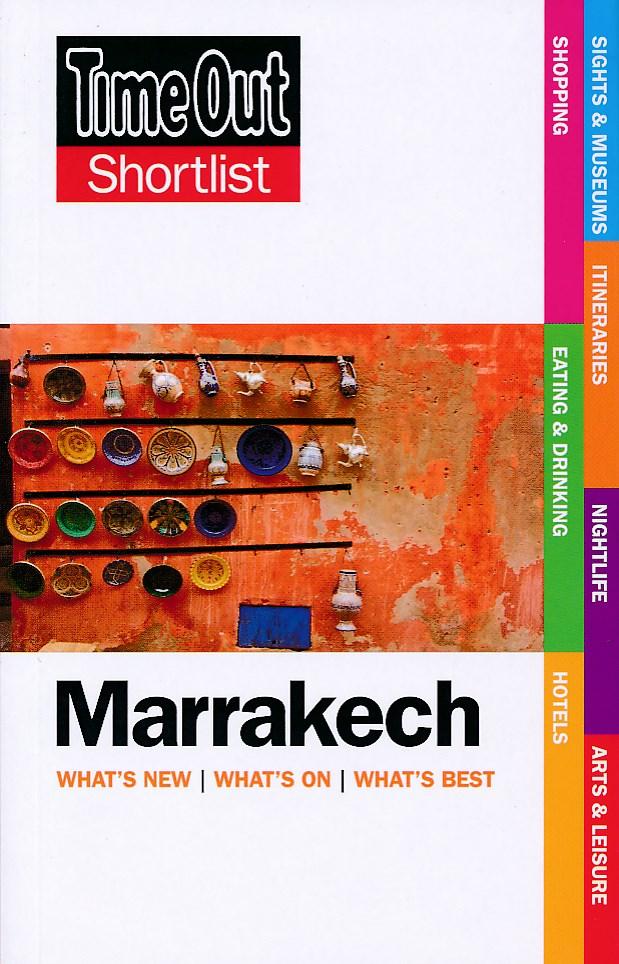 Reisgids Marrakech Shortlist   Time Out