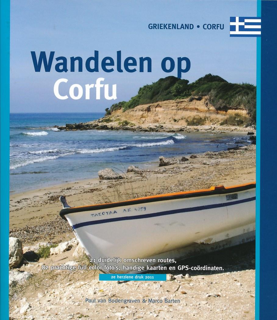 Wandelgids Wandelen op Corfu - Korfoe   One day walks