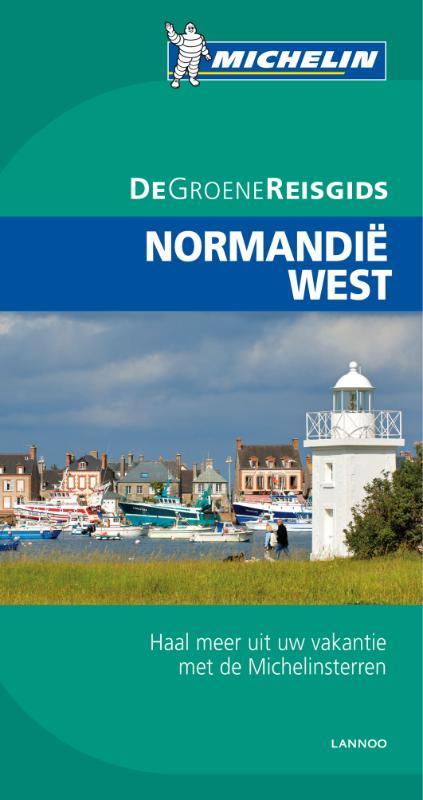 Reisgids Normandië WEST (Caen Mont-St-Michel Guernsey Jersey)   Michelin groene gids