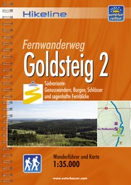 Wandelgids Fernwanderweg Goldsteig 2   Hikeline