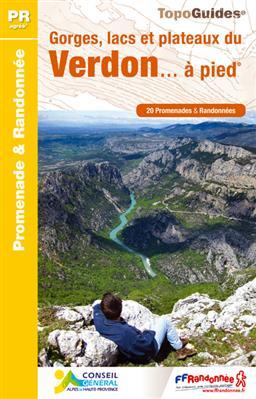 Wandelgids P042 Gorges, Lacs et Plateaux de Verdon a pied    FFRP