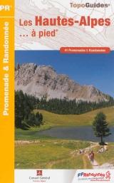 Wandelgids D005 Les Hautes Alpes a pied -Ecrins - Queyras   FFRP