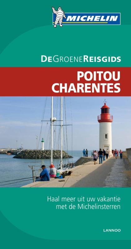 Reisgids Poitou - Charentes   Michelin groene gids