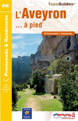 Wandelgids L'Aveyron... à pied D012   FFRP