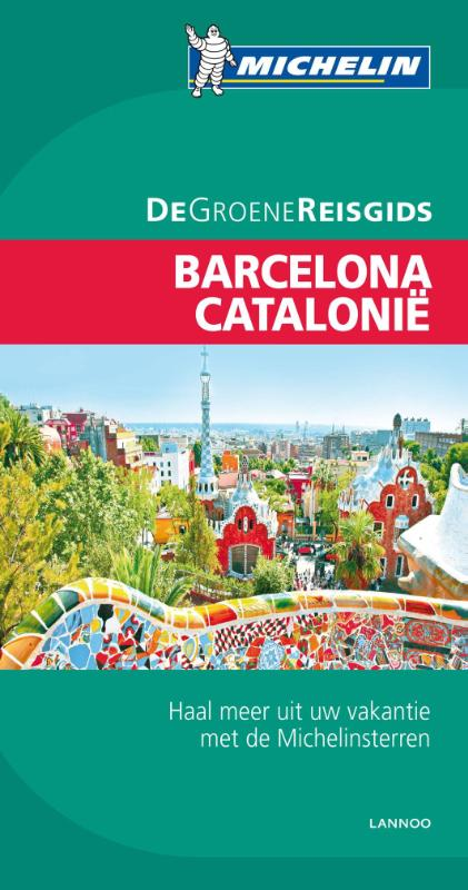 Reisgids Catalonië - Barcelona   Michelin groene gids