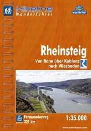 Wandelgids Fernwanderweg Rheinsteig   Hikeline
