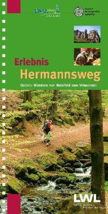 Wandelgids Erlebnis Hermannsweg Ostteil   TPK Verlag