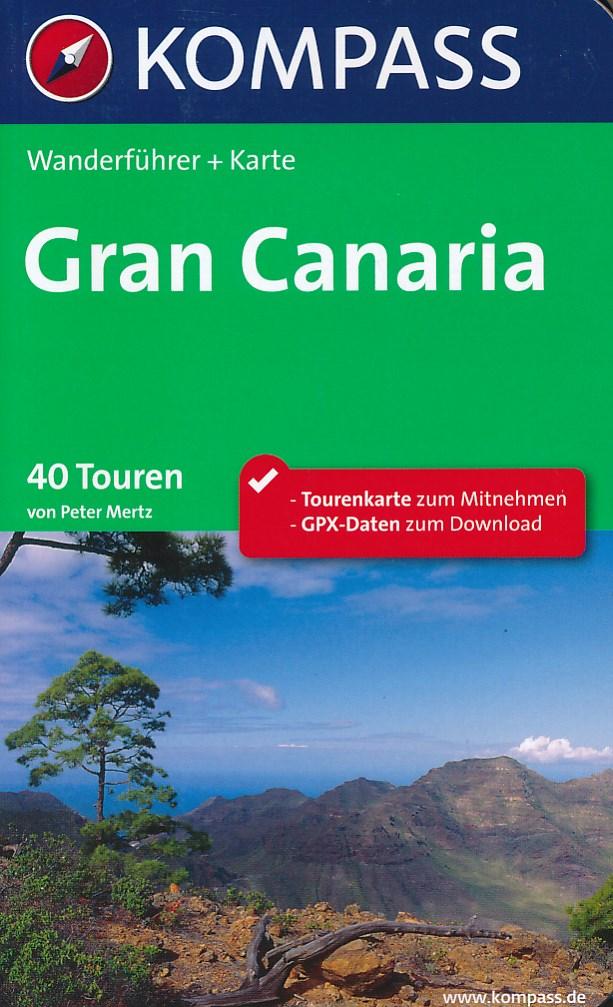 Wandelgids - wanderfuhrer Gran Canaria   Kompass