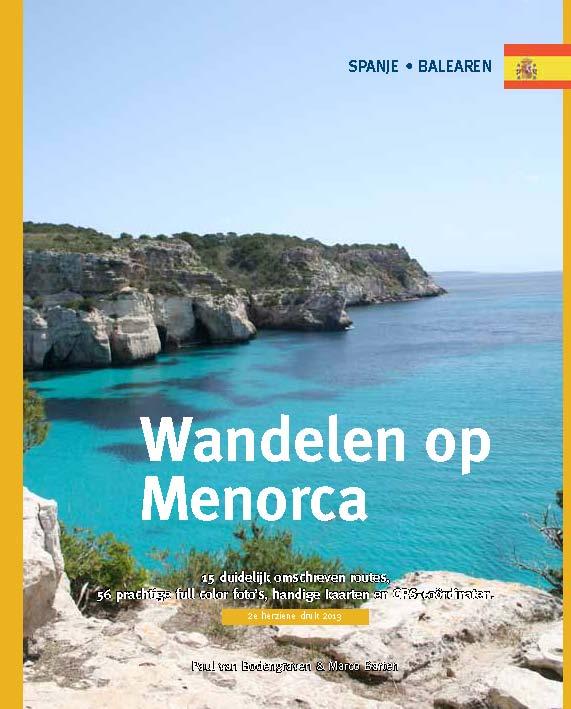 Wandelen op Menorca - Wandelgids   Onedaywalks