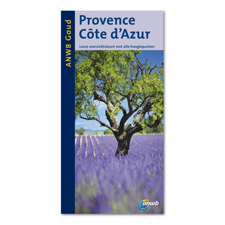 Reisgids Provence en Cote d'Azur   ANWB goud