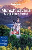 Reisgids Lonely Planet Munich, Bavaria & The Black Forest - M�nchen, Beieren & het Zwarte Woud   Lonely Planet