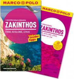 Reisgids Zakinthos, Ithaki, Kefallonia & Lefkas (Duitstalig)   Marco Polo