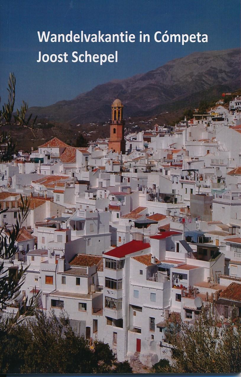 Wandelgids Wandelvakantie in Cómpeta - Andalusie   Joost Schepel