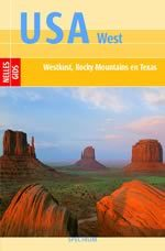 Reisgids USA west - Rocky Mountains, Californie en Texas : Nelles :