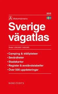 Wegenatlas Sverige Vägatlas Zweden 2015   Kartforlaget