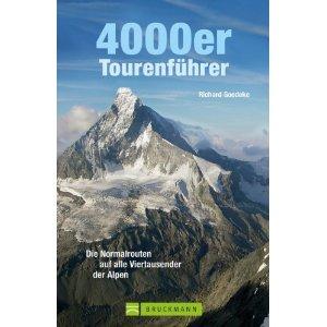 Klimgids 4000er: Die Normalrouten auf alle Viertausender in den Alpen   Bruckmann