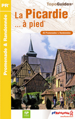 Wandelgids Picardie a Pied   FFRP RE12