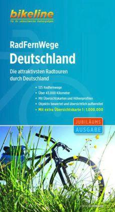 Fietsgids RadFernWege Deutschland - Bikeline fietsgids Duitsland
