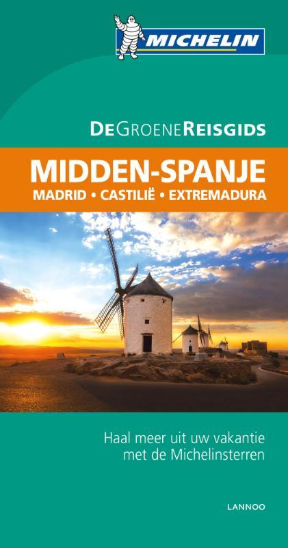 Reisgids Midden Spanje   Michelin groene gids