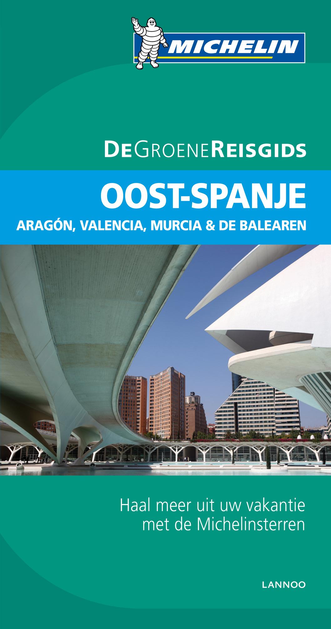 Reisgids Oost Spanje    Michelin groene gids