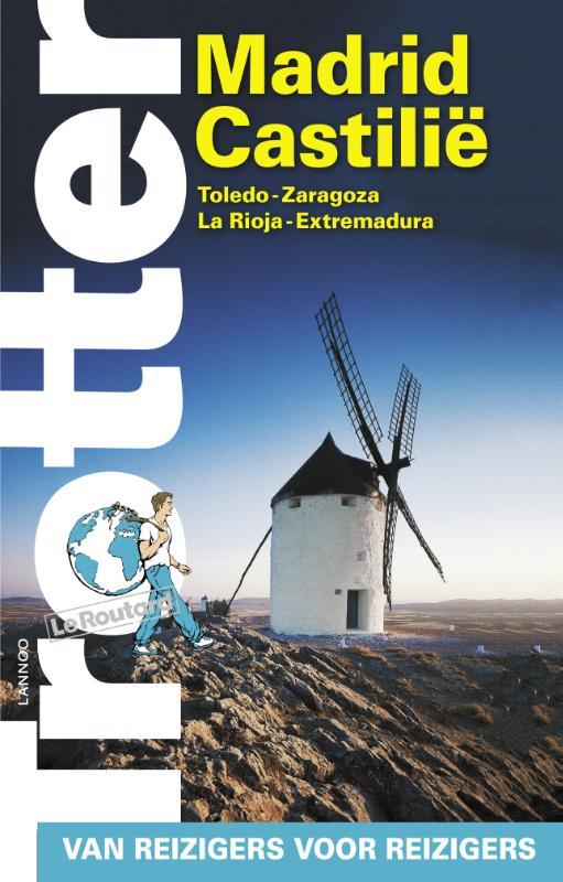 Reisgids Madrid - Castilië   Trotter