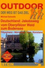 Wandelgids Duitsland: Jakobsweg vom Oberpf�lzer Wald zum Bodensee - Conrad Stein Verlag