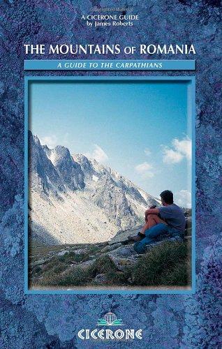 Cicerone wandelgids The Mountains of Romania - Roemenië