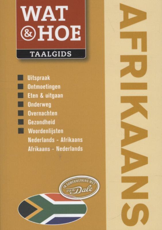 Woordenboek - taalgids Wat & Hoe Afrikaans   Kosmos