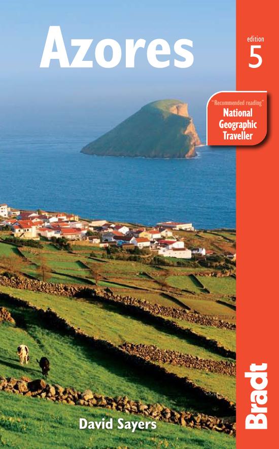 Reisgids Azores - Azoren   Bradt Guide   David Sayers