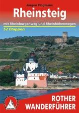 Wandelgids Rheinsteig mit Rheinburgenweg und Rheinh�henwegen   Rother