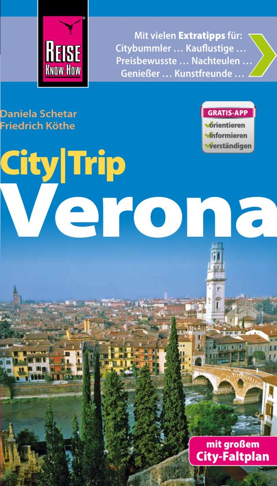 Reisgids Verona City Trip   Reise Know How