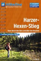 Wandelgids Wanderf�hrer Harzer-Hexen-Stieg   Hikeline