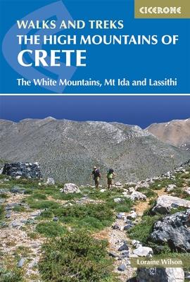 Wandelgids The high mountains of Crete - Kreta   Cicerone