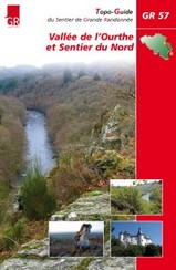 Wandelgids Vallée de l'Ourthe et Sentier du Nord GR57 (Ourthe Vallei)   GR Sentiers FRANSTALIG