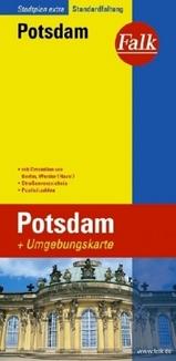 Stadsplattegrond Potsdam Stadtplan Extra   Falk