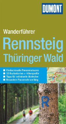 Wandelgids Wandern auf dem Rennsteig - Th�ringer Wald   Dumont aktiv