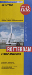 Stadsplattegrond - Landkaart Rotterdam    Falk
