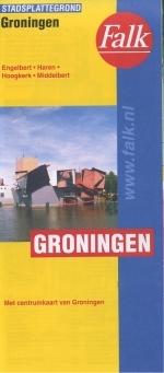 Stadsplattegrond - Landkaart Groningen   Falk