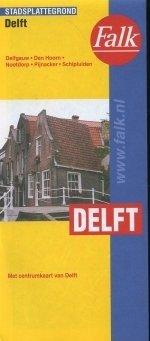 Stadsplattegrond - Landkaart Delft   Falk