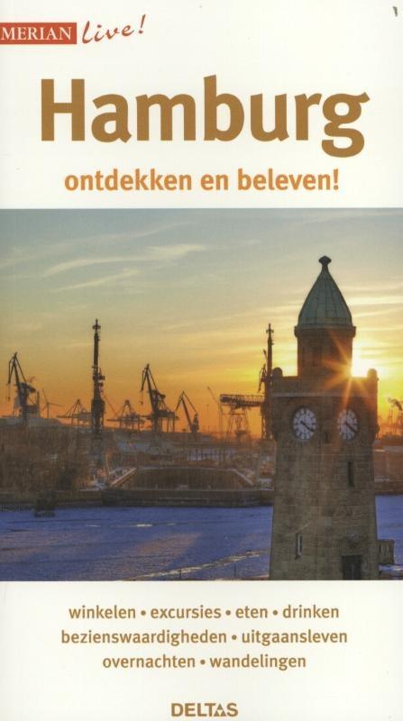 Reisgids Merian Live Hamburg   Deltas
